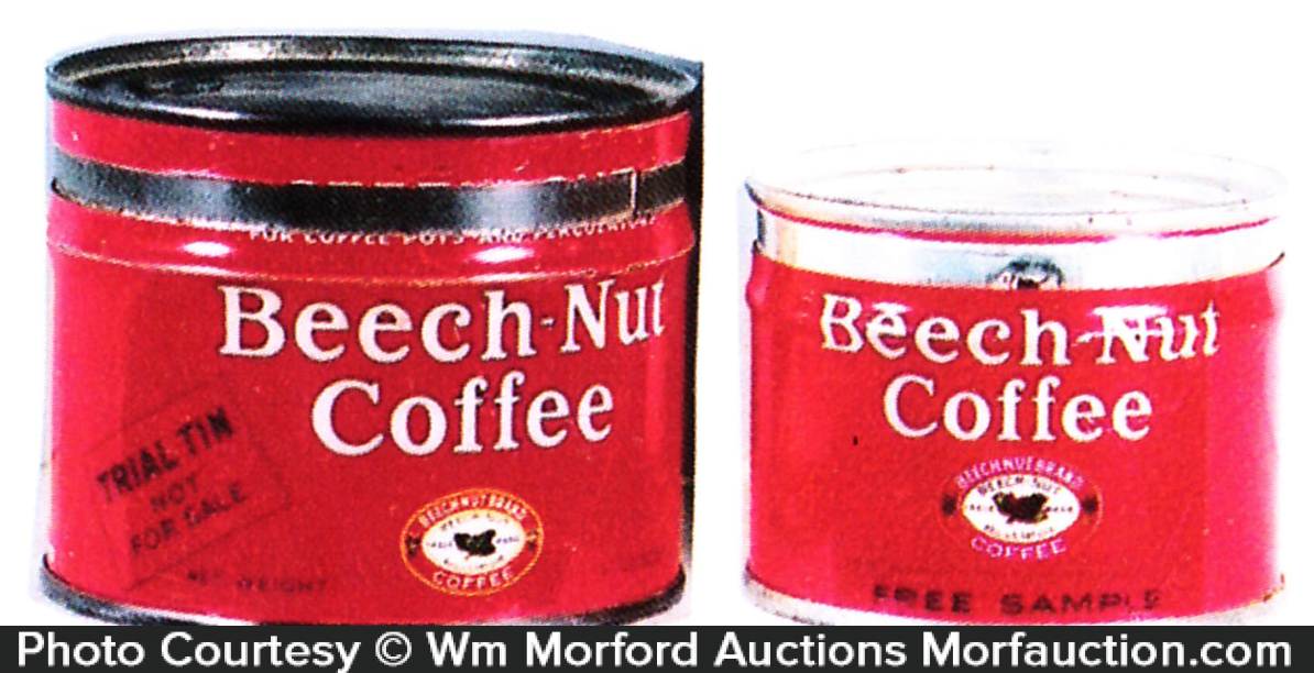 Beech-Nut Coffee Can Samples