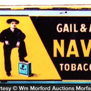 Gail & Ax Navy Tobacco Tin