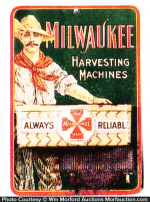 Milwaukee Harvesting Machines Match Holder