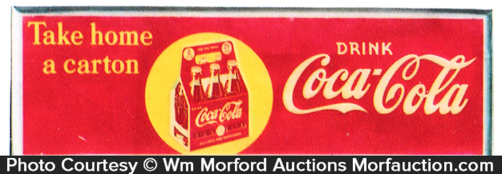Coca-Cola Carton Sign
