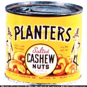Planters Cashew Tin