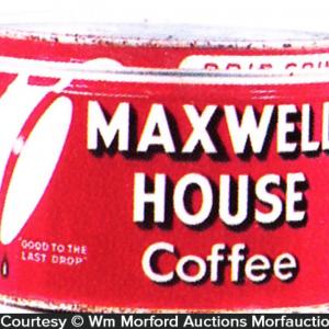 Maxwell House Coffee Can