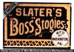 Slater's Boss Stogies Sign