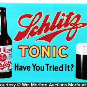 Schlitz Tonic Sign