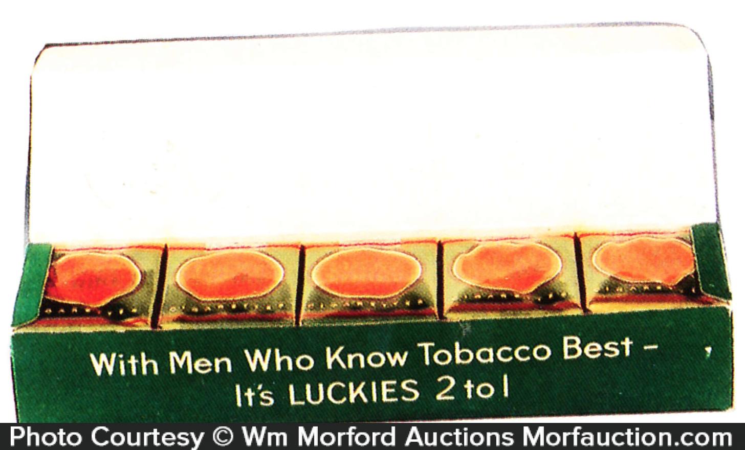 Lucky Strike Cigarettes Carton