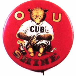 Cub Shoe Shine Pin