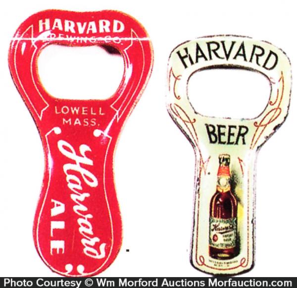 Harvard Bottle Openers
