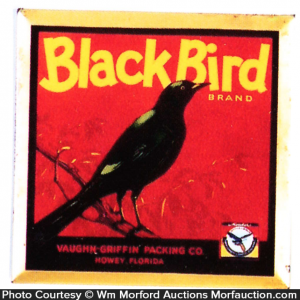 Black Bird Sign