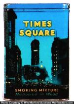 Times Square Pocket Tobacco Tin