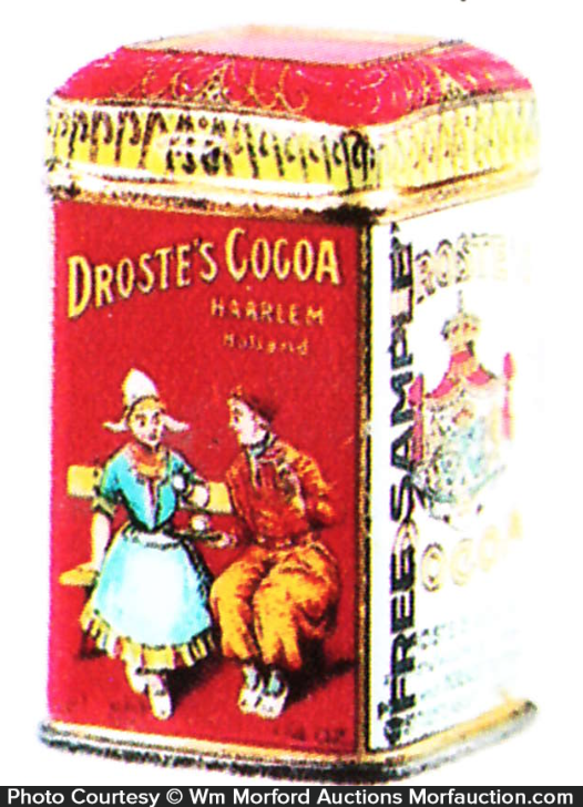 Droste Cocoa Sample Tin