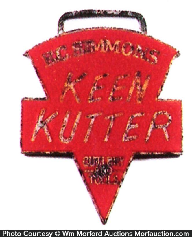 Keen Kutter Watch Fob