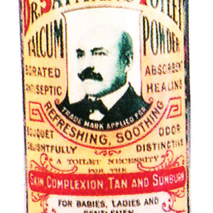 Dr. Sayman's Toilet Powder Tin