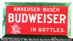 Budweiser In Bottles Sign