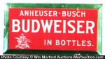 Budweiser In Bottles Sign