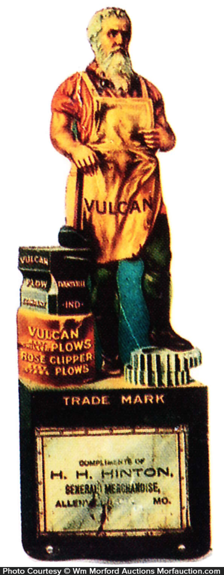 Vulcan Plows Match Holder