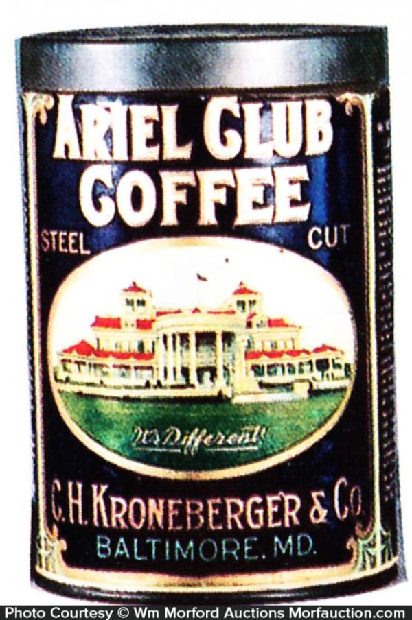 Ariel Club Coffee Can