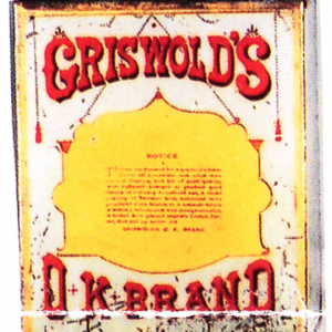 Griswold's Ok Spice Tin