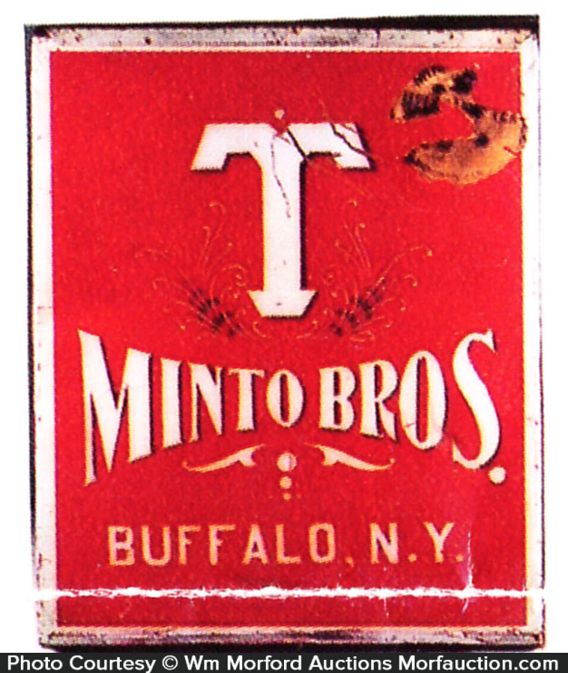 Minto Bros. Tea Tin