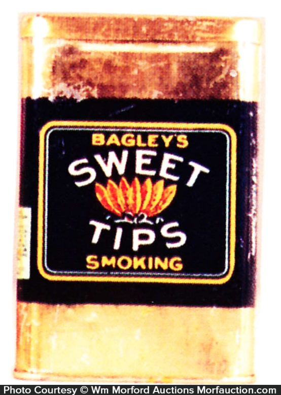 Sweet Tips Tobacco Tin