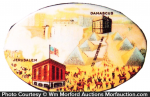 Jerusalem and Damascus Mirror