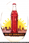Big Boy Soda Mirror