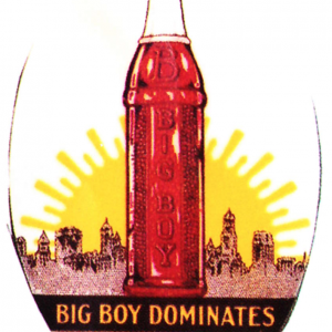 Big Boy Soda Mirror