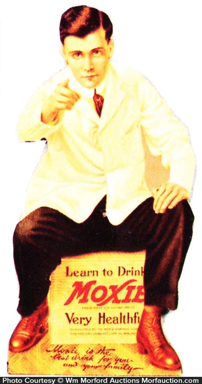 Learn To Drink Moxie Sign