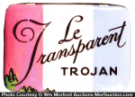 Le Transparent Trojan Condom Tin