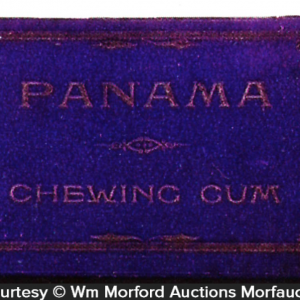 Panama Chewing Gum Box