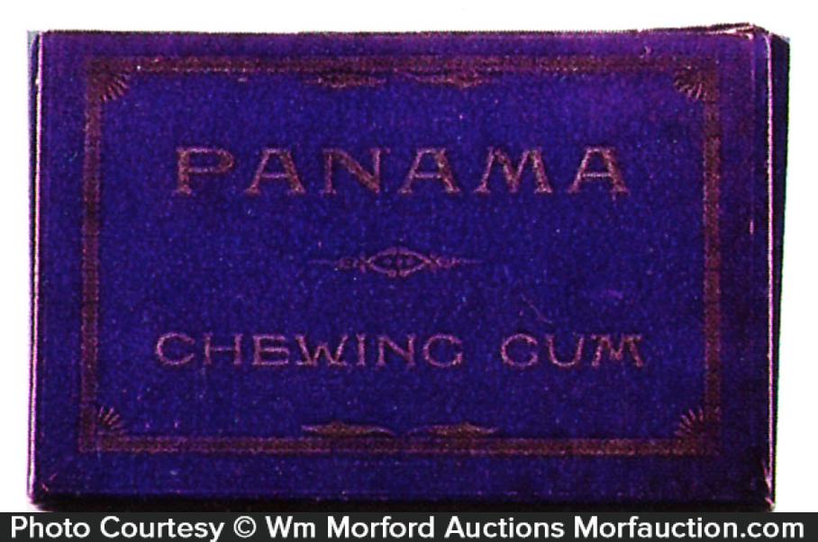 Panama Chewing Gum Box