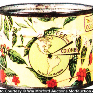 Columbian Coffee Sample Tin