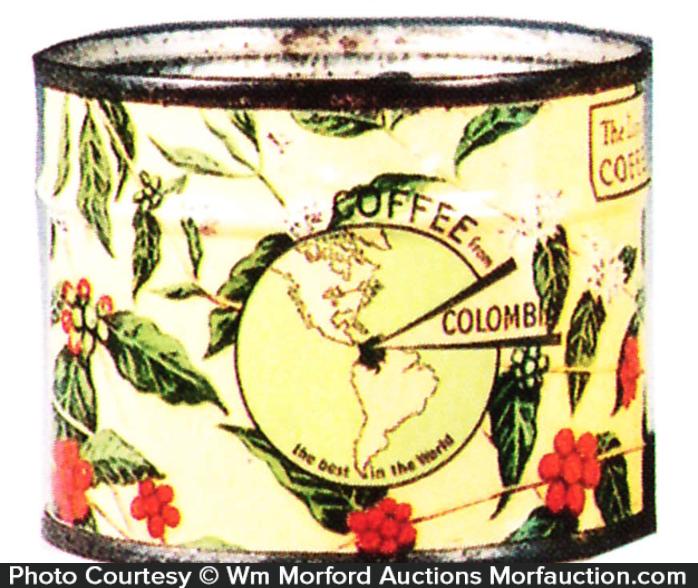 Columbian Coffee Sample Tin