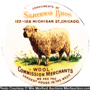 Berman Bros. Wool Merchant Mirror