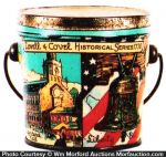 Lovell & Covel Historical Candy Pail