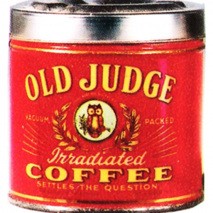 Old Judge Coffee Ashtray