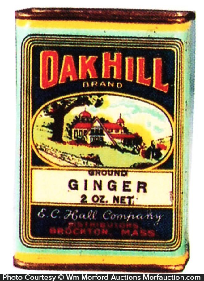 Oak Hill Spice Tin