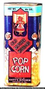 Old Mother Hubbard Pop Corn Tin