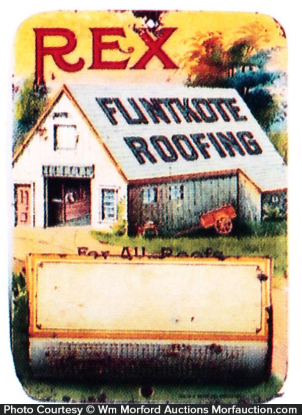 Rex Roofing Match Holder