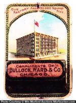 Bullock, Ward Match Holder