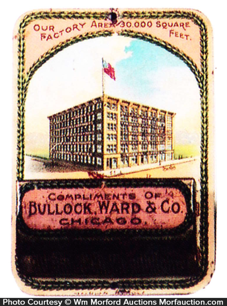 Bullock, Ward Match Holder