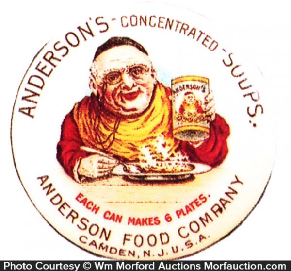 anderson Soups Pocket Mirror