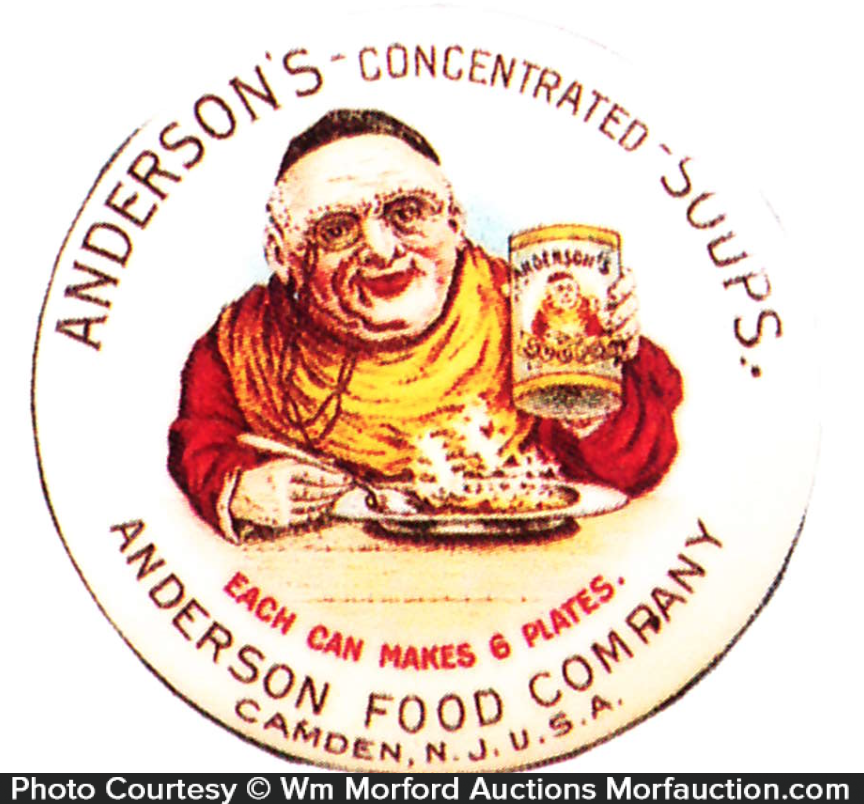 anderson Soups Pocket Mirror