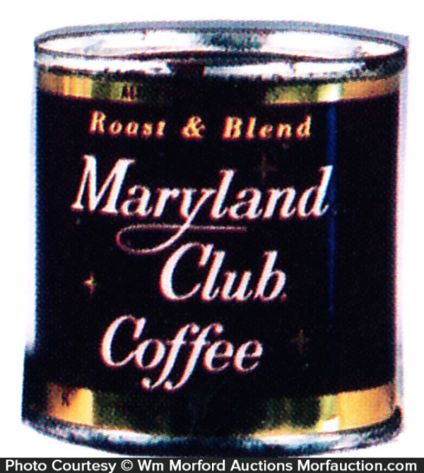 Maryland Club Coffee Coke Sample Can