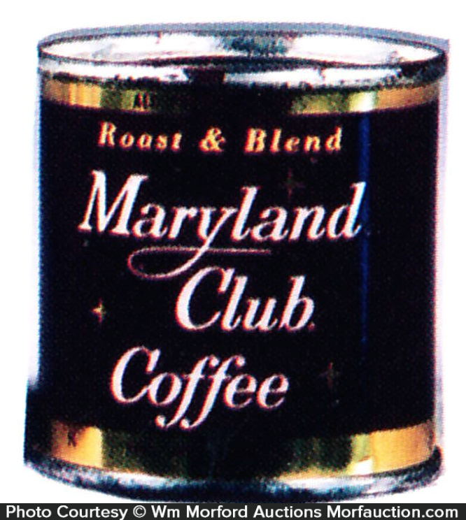 Maryland Club Coffee Coke Sample Can