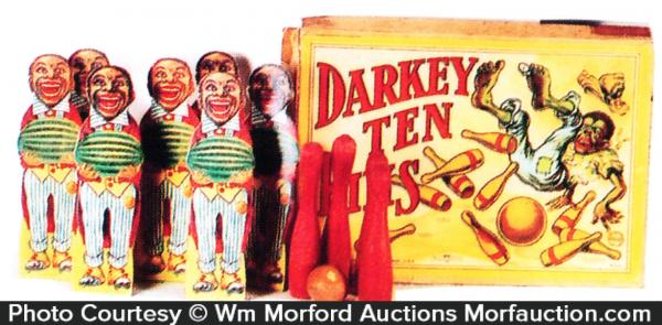 Darkey Ten Pins Game
