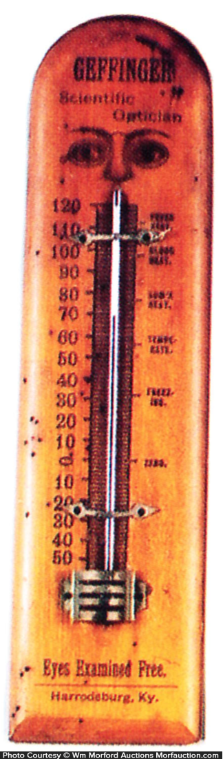 Geffinger Optician Thermometer