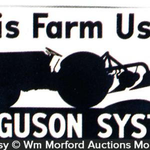 Ferguson Farm Systems Sign