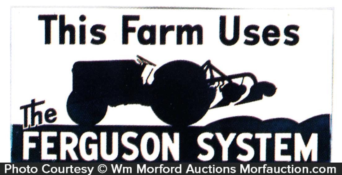 Ferguson Farm Systems Sign