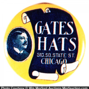 Gates Hats Mirror