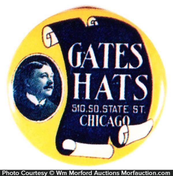 Gates Hats Mirror